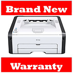 Ricoh SP 213Nw Black & White Laser Printer with 3 Year Warranty - RRP $189.95 - Brand New