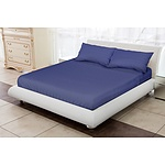 Royal Comfort 1200 Thread Count Double Blue Luxurious Egyptian sheet set - RRP: $249.00 - Brand New