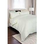 Royal Comfort 1200 Thread Count Double 100% Egyptian Cotton Ivory Quilt Cover - RRP $249 - Brand New