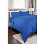 Royal Comfort 1200 Thread Count Queen 100% Egyptian Cotton Blue Quilt Cover - RRP $249 - Brand New