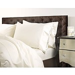 Royal Comfort 1000 Thread Count Double Ivory Quilt Cover Set - RRP $299 - Brand New