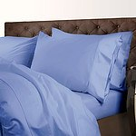 Royal Comfort 1000 Thread Count Double Powder Blue Quilt Cover Set - RRP $299 - Brand New