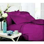 Royal Comfort Middleton Collection 1000 Thread Count Queen Crimson Luxurious Egyptian Sheet Set - RRP $239 - Brand New