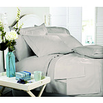 Royal Comfort Middleton Collection 1000 Thread Count Single Warm Grey Luxurious Egyptian Sheet Set - RRP $199 - Brand New
