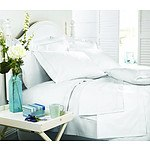 Royal Comfort Middleton Collection 1000 Thread Count Double White Luxurious Egyptian Sheet Set - RRP $229 - Brand New