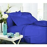 Royal Comfort Middleton Collection 1000 Thread Count Single Blue Passion Luxurious Egyptian Sheet Set - RRP $199 - Brand New