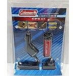 Coleman CPX 4.5V Rechargeable Power Cartridge - Box of 4 - RRP $49.99 Per Cartridge