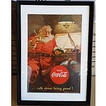 Framed 1951 Coca Cola Advertisement