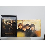 Block Mounted Beatles Print & Framed 3D Twilight Picture