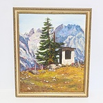 Various Framed Oil on Boards - Lot of Eight