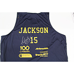 Canberra Capitals Singlet personally signed by Lauren Jackson