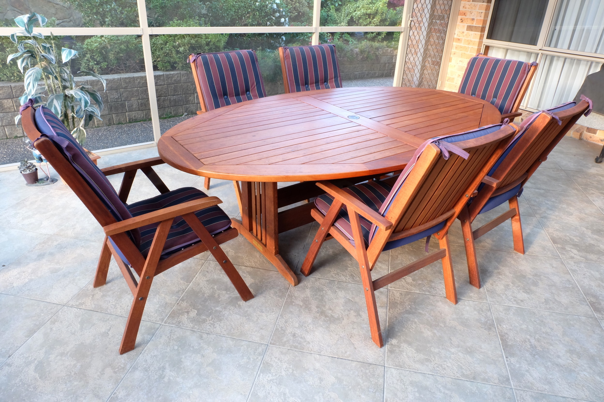 Jensen Solid Jarrah Outdoor Suite Lot 850890 Allbids