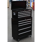 Huskey 9 Drawer Chest and Cabinet Combo - Demonstration Model