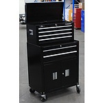 Huskey 6 Drawer Chest and Cabinet Combo - Demonstration Model