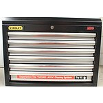 Stanley 6 Drawer Industrial Tool Chest with Ball Bearing Drawer Slides - Brand New