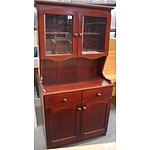 Timber & Glass Cabinet