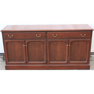 Parker Furniture Timber Buffet Lot 856820 Allbids