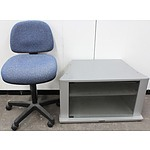 Gaslift Chair and Television Stand