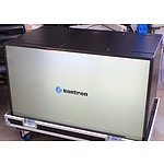 Kontron Multi Touch MT460.4S 47 Inch Display Cube in Road Case