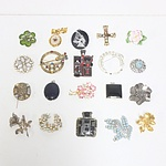 Various Brooches and Pendants