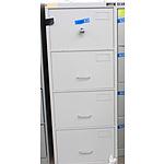 Planex Grey C Class Filing Cabinet