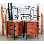 3-Piece Queen Timber Bedroom Furniture Package
