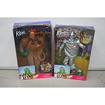 The Wizard of Oz Barbie/Ken Dolls in Boxes - Lot of 4