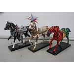 The Trail of Painted Ponies - Lot of 3
