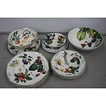 Various Fruit Themed Tableware - 14 Pieces