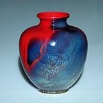 Fine Royal Doulton Sung Glaze Vase Signed Fred Moore
