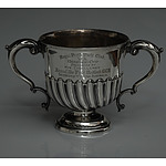 Royal Perth Yacht Club Sterling Silver Trophy 1905 Presented by Governor of WA