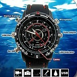 4GB Ultimate Waterproof Spy Watch - Takes Videos Audio & Photos - Brand New