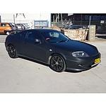4/2005 Hyundai Tiburon V6  2d Coupe Black 2.7L