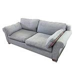 Custom Designed Three Seater Sofas - Lot of Two
