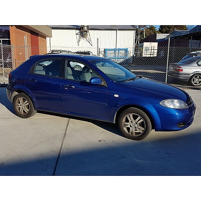 102005 Holden Viva Jf 5d Hatchback Lot 858790 Allbids
