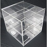Cake Bakery Muffin Donut Pastry 5mm Acrylic Display Cabinet RRP $399.95 - Brand New