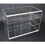 Large Cake Bakery Muffin Donut Pastry 5mm Acrylic Display Cabinet RRP $629.95 - Brand New