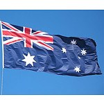 6.0m Flag Pole Full Set and Kit with Australian Flag RRP $134.95 - Brand New