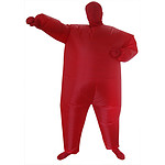 Red Alert Inflatable Costume RRP $69.95 - Brand New
