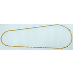 Solid 18K Gold 50cm Anchor Link Chain