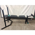 York 7800 Flat and Incline Weights Bench with Leg Extension