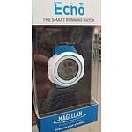 NEW Magellan Echo White/Blue - RRP $149.00