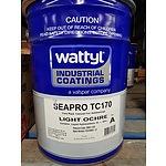 New Wattyl Seapro TC170 Part A Light Ochre - 16L