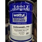 New Wattyl Duranamel PR9 Mustard Yellow - 20L