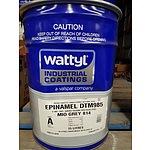 New Wattyl Epinamel DTM985 Mio Grey 814 Part A - 15L