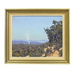 Warwick Fuller (1948-) Summer Day Kanimbla Valley Oil on Board