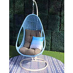 New Coco N3 Hanging Chair - Light Blue - RRP=$849.00
