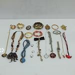 Collection of Retro Costume Jewellery