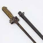 French Lebel Bayonet and Scabbard Circa 1916