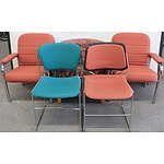 Occasional/Visitor Chairs - Lot of Five
